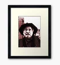 It's All in the Eyes Framed Print