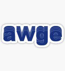 AWGE Shirt Hoodie ASAP Rocky Merch Sticker