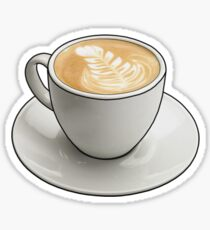 Latte Sticker