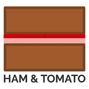 Sandwich - Ham & Tomato by AforAwesome