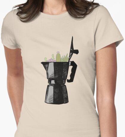 Espresso Maker with Cacti T-Shirt