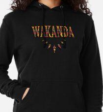 Wakanda afrikanisches Muster Leichter Hoodie