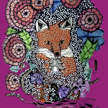 Red Fox Flora And Fauna  by gretassister