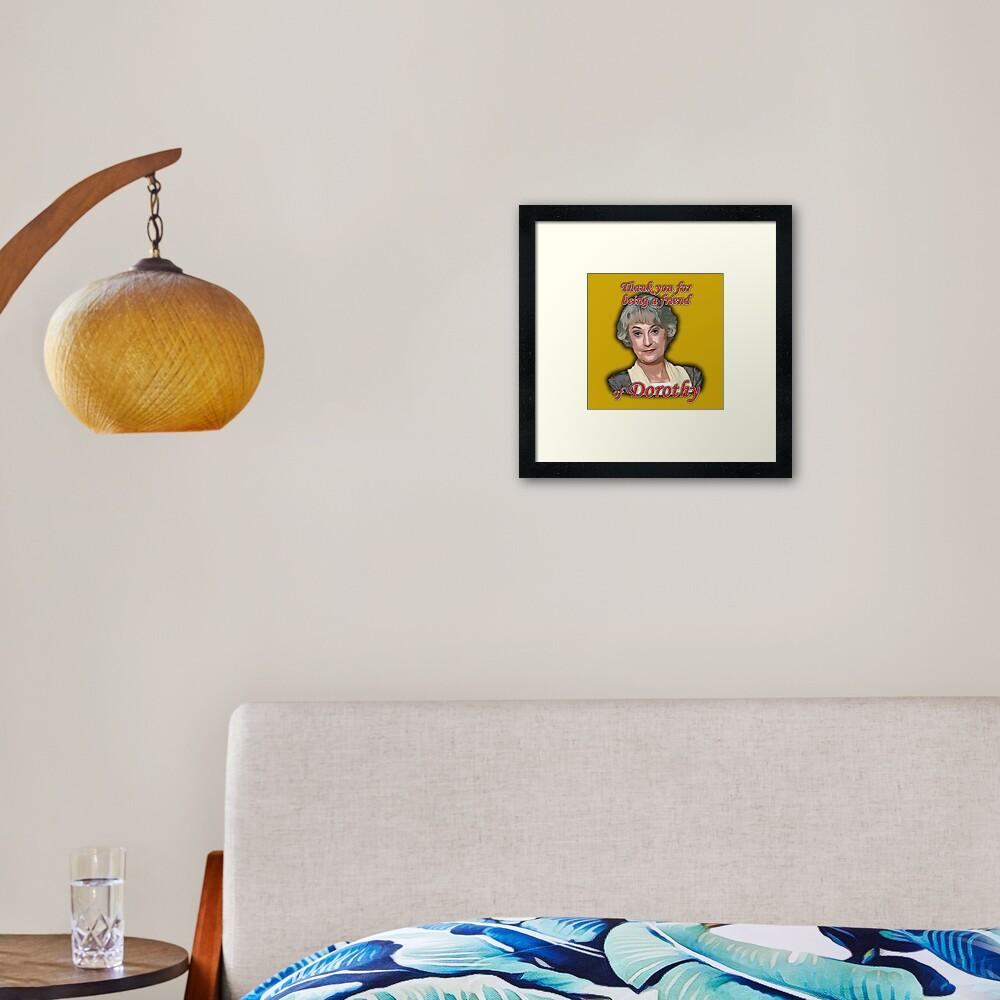 Friend of Dorothy Framed Art Print