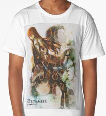 Steins Gate Long T-Shirt