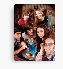 That 70's Show Cast Fisheye Selfie Canvas Print