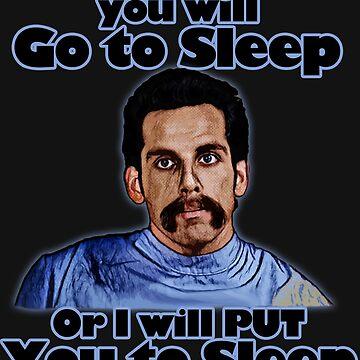 I will put you to sleep by JTK667
