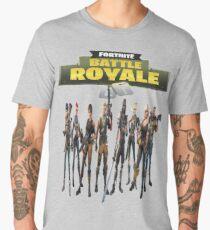Battle Royale Fortnite Men's Premium T-Shirt