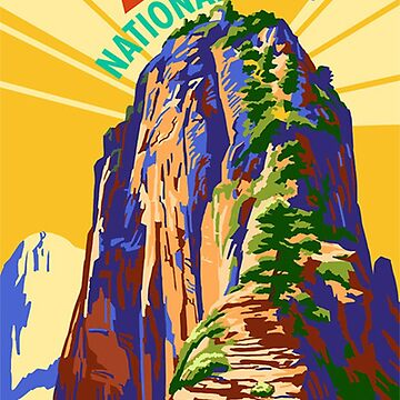 Zion National Park Travel Decal Sticker Utah, USA by MeLikeyTees