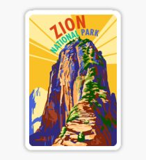 Zion National Park Travel Decal Sticker Utah, USA Sticker
