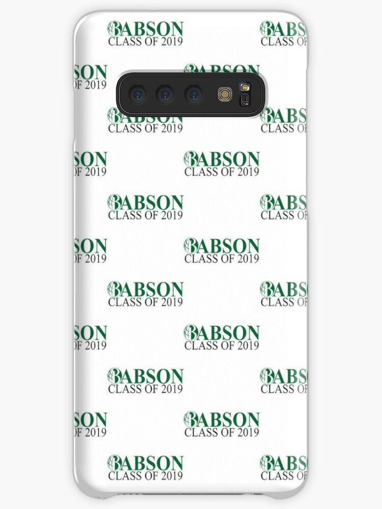 'Babson College Class of 2019' Case/Skin for Samsung Galaxy by aditya023