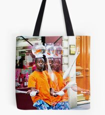 My Brothers and I Tote Bag