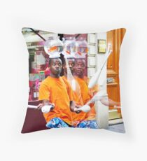 My Brothers and I Throw Pillow