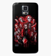 Jason Voorhees (Viele Gesichter von) Hülle & Klebefolie für Samsung Galaxy