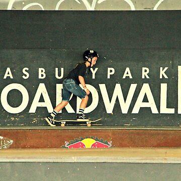 Asbury Park Boardwalk  by MCOConnor