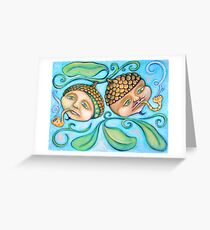 Tokin' Acorns Greeting Card