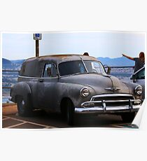 1950-1954 Delivery Truck Poster