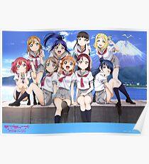 Love Live Sunshine!! Poster Poster