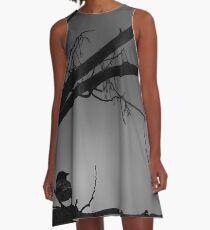Lonely Bird A-Line Dress