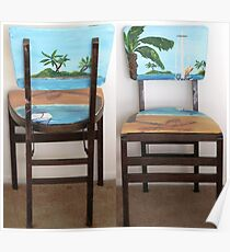 Folding Chairs I Poster