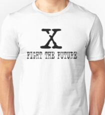 The X Files fight the future Unisex T-Shirt