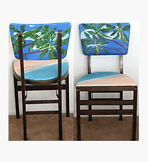 Folding Chairs II Photographic Print