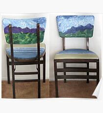 Folding Chairs III Poster