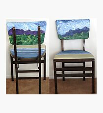 Folding Chairs III Photographic Print