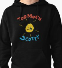 scotty sire too much retro Pullover Hoodie