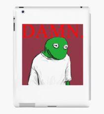 DAMN. cover - Kermit Lamar iPad Case/Skin