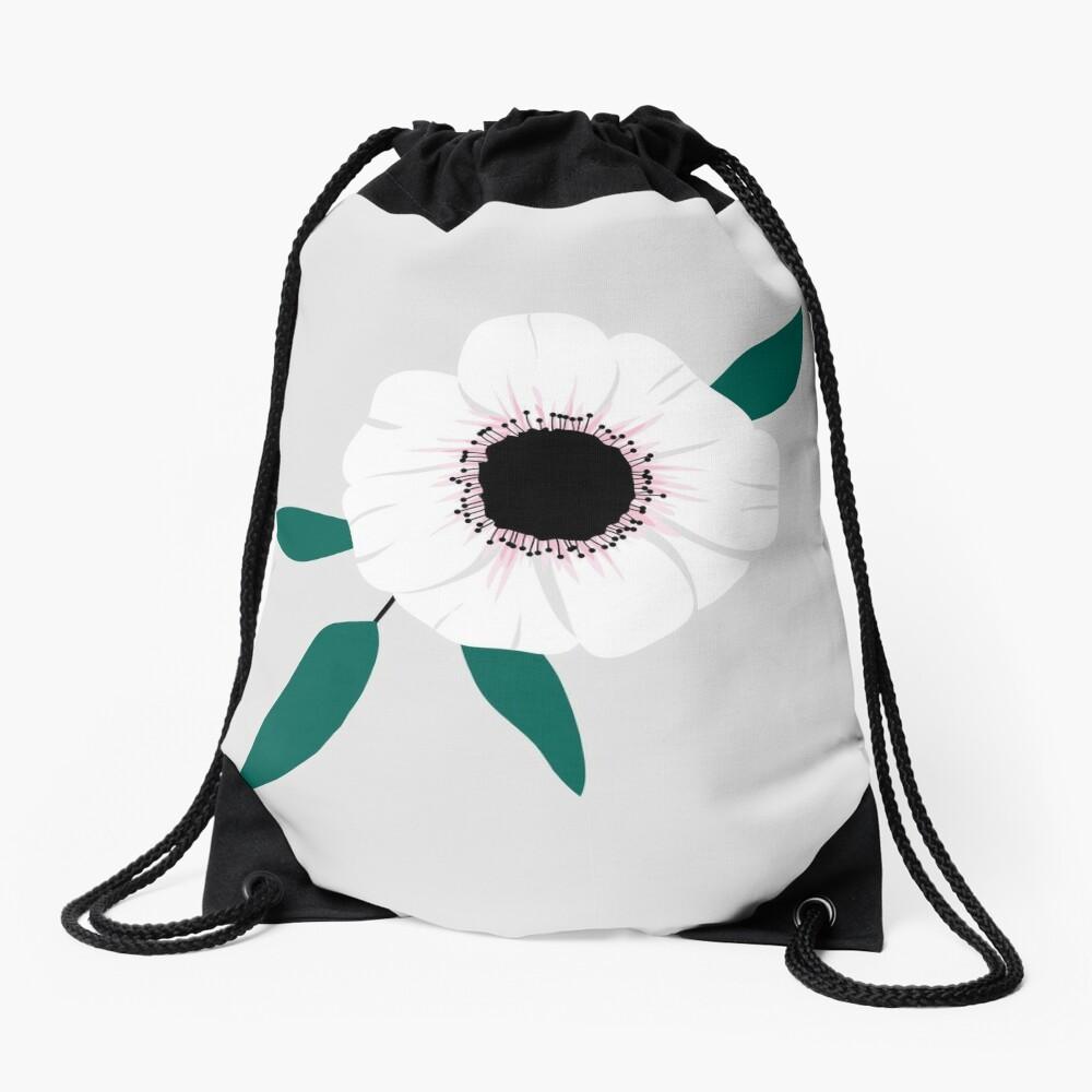 Anemone Drawstring Bag
