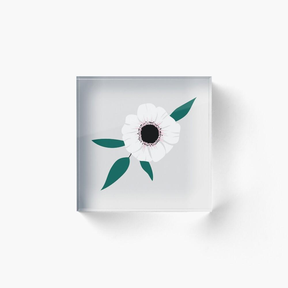 Anemone Acrylic Block