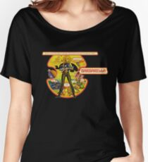 Barbarella - Poster Classic Science Fiction Cult Movie Women's Relaxed Fit T-Shirt