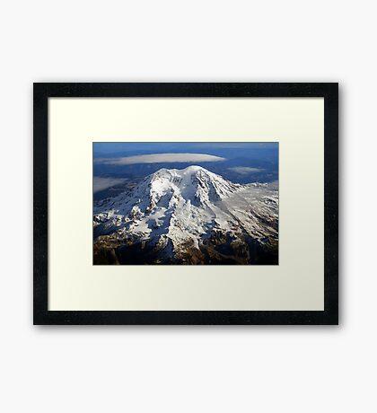 Majestic Mount Rainier Framed Print