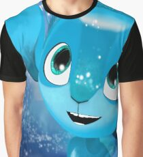 Blue mune Graphic T-Shirt