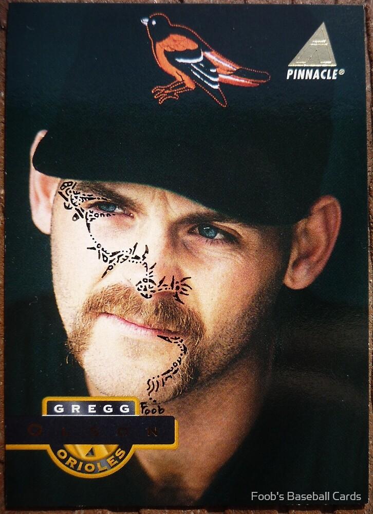 368 - Gregg Olson by Foob's Baseball Cards