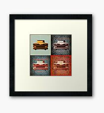 I support Project APACHE! Framed Print