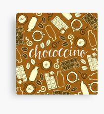 Chococcino Canvas Print