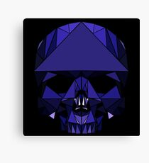 Crystal Skull (including tessellations) Canvas Print