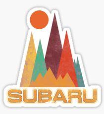 Subaru Baja Stickers Sticker