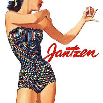 Vintage Swimwear 3 by HeritageScrap
