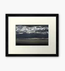 The Storm Abates Framed Print