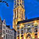 Cathedral of Our Lady, Antwerpen by Anatoliy