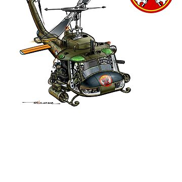 VNAF UH-1 Gunship 213th HS (version 2) by ACVuConcepts