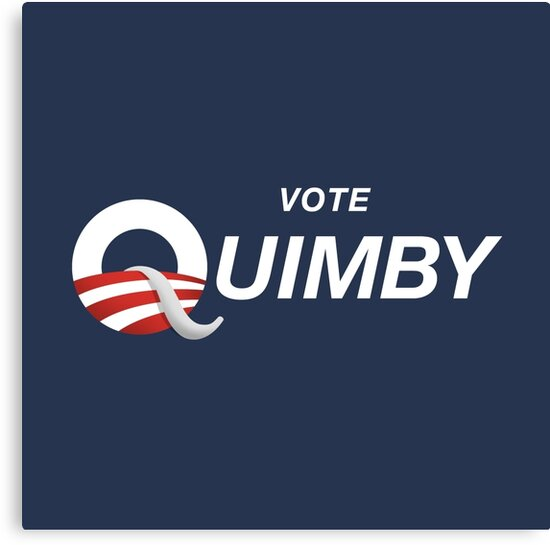 Vote Quimby by See My Shirt