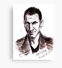 Dr Who. Christopher Eccleston. Canvas Print