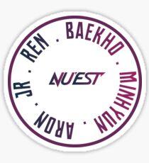 NUEST OT5 Sticker