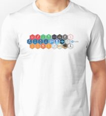 The RStudio team contributes code to many R packages and projects Unisex T-Shirt