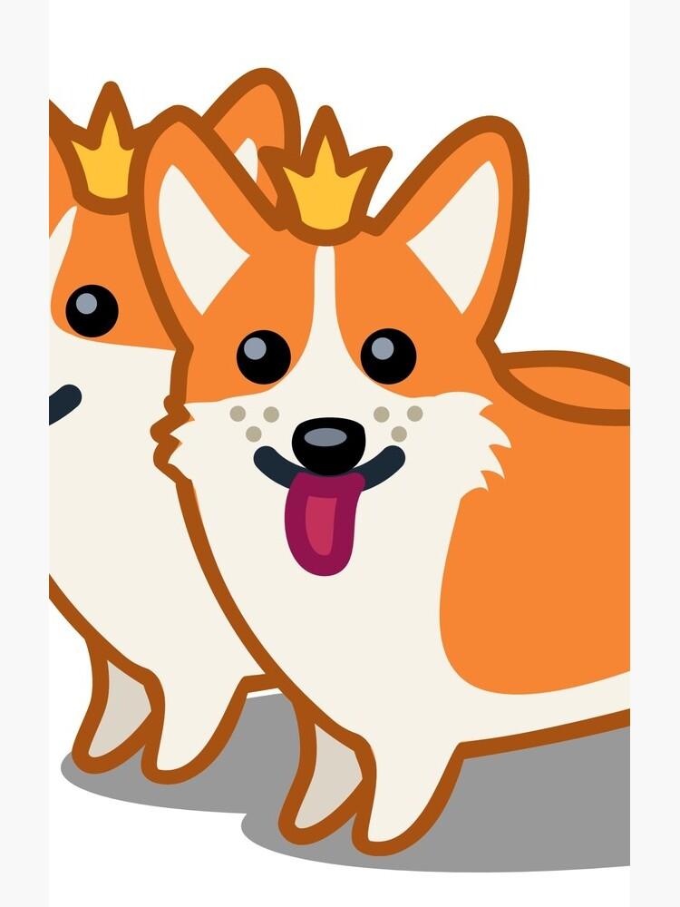 Funny Corgi Dog Tshirt - Dog Gifts for Corgi Pet Lovers by Banshee-Apps