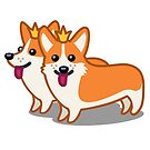 Funny Corgi Dog Tshirt - Dog Gifts for Corgi Pet Lovers by Banshee-Apps